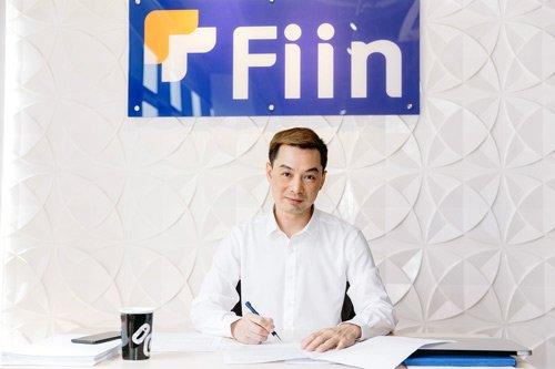 Ông Trần Việt Vĩnh, CEO công ty cổ phần Đổi mới Công nghệ Tài chính Fiin