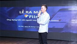 CEO Trần Việt Vĩnh giới thiệu về Fiin trong buổi lễ ra mắt ứng dụng