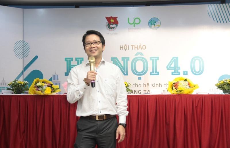 Ông Nghiêm Thanh Sơn - Phó Trưởng Ban chỉ đạo Fintech Ngân hàng Nhà nước (Ảnh: Vương Đức)