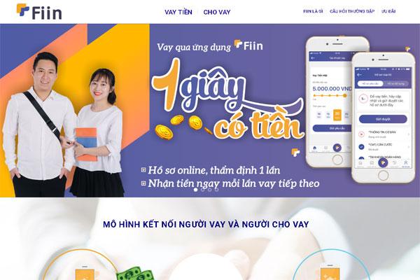 Fiin - Ứng dụng cho vay tiền online theo mô hình P2P Lending