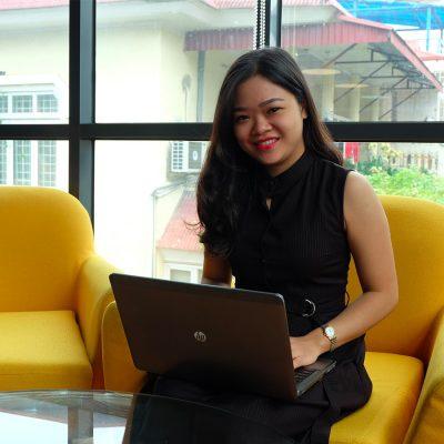 Chị Thu Hà, nhà đầu tư thường xuyên qua Fiin rất hài lòng sau khi kích hoạt tính năng xác nhận bằng vân tay