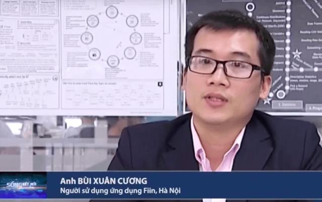 Chuyên viên kiểm toán Xuân Cương chia sẻ về trải nghiệm đầu tư hiệu quả qua Fiin trên truyền hình VTC