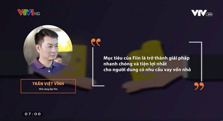 CEO Trần Việt Vĩnh của Fiin cam kết Fiin sẽ trở thành giải pháp tài chính hiệu quả, tiện dụng