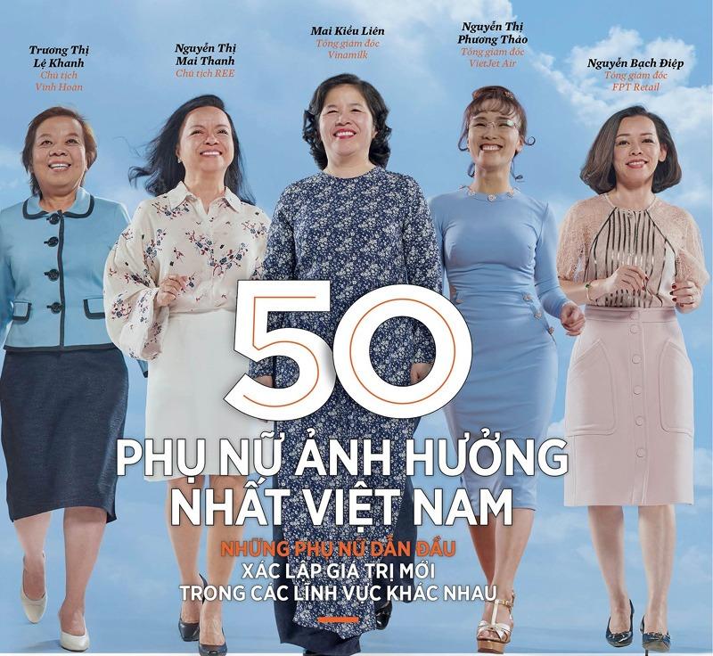 Những gương mặt nữ doanh nhân tiêu biểu có ảnh hưởng nhất Việt Nam năm 2019
