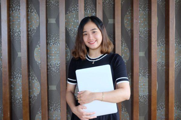 Thùy Dương là đại diện tiêu biểu cho thế hệ sinh viên năng động, tự tin, tự chủ về tài chính