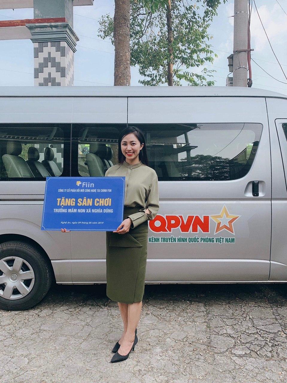 Fiin kết hợp cùng kênh truyền hình quốc phòng Việt Nam để tổ chức hoạt động xã hội, cộng đồng