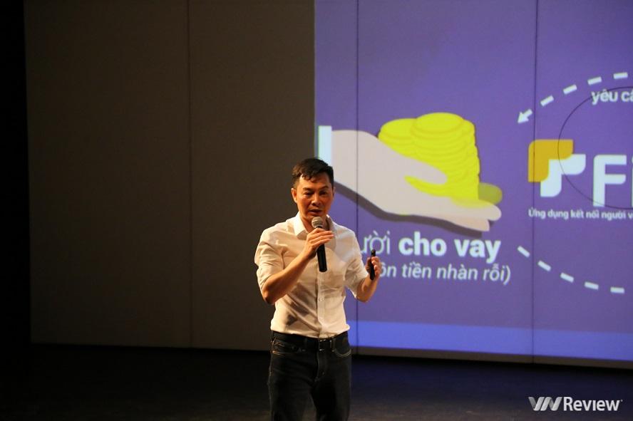 Ông Trần Việt Vĩnh, nhà sáng lập và giám đốc điều hành của Fiin giới thiệu về Fiin Credit vay ứng tiền miễn lãi 45 ngày