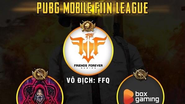 Team FFQ vô địch PUBG Mobile Fiin League một cách bất ngờ