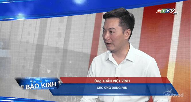Ông Trần Việt Vĩnh phỏng vấn cùng HTV9 về cách phòng tránh bẫy tín dụng đen