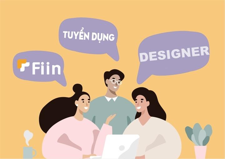 Fiin tuyển dụng nhân viên design - công việc hấp dẫn