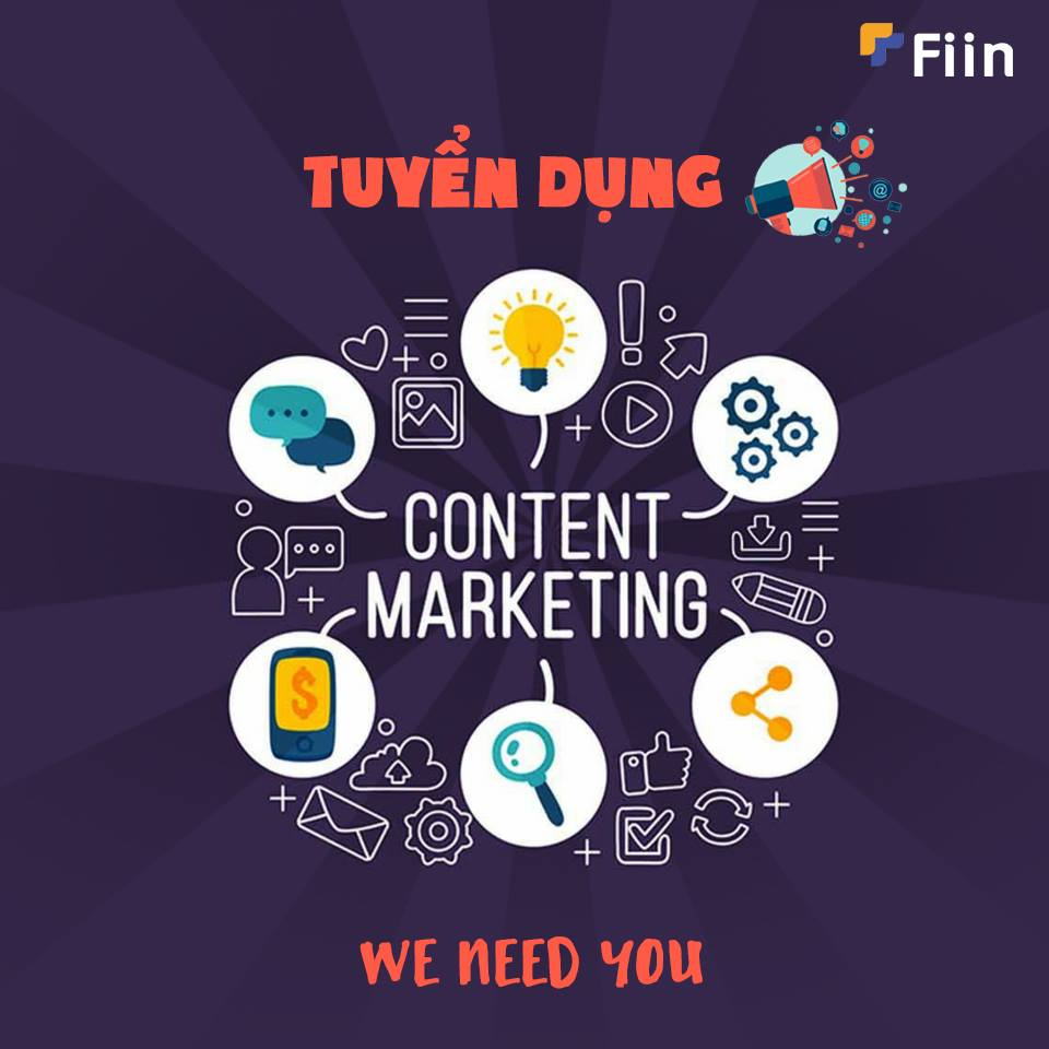 Chào mừng thành viên Content Marketing đã về với gia đình Fiin!