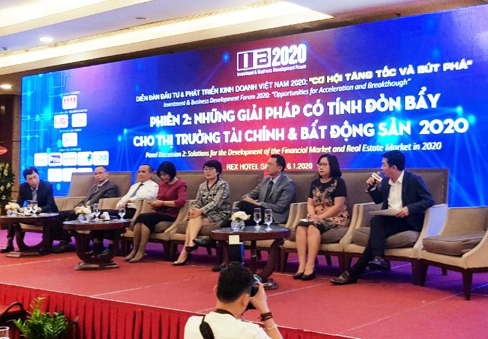 Ông Trần Việt Vĩnh – CEO Fiin đang đưa ra các góc nhìn về những cơ hội và thách thức của ngành Fintech Việt Nam.