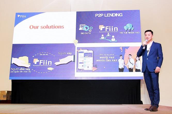 Mô hình của Fiin được ông Trần Việt Vĩnh - CEO & Founder giới thiệu tại sự kiện VIO 2019
