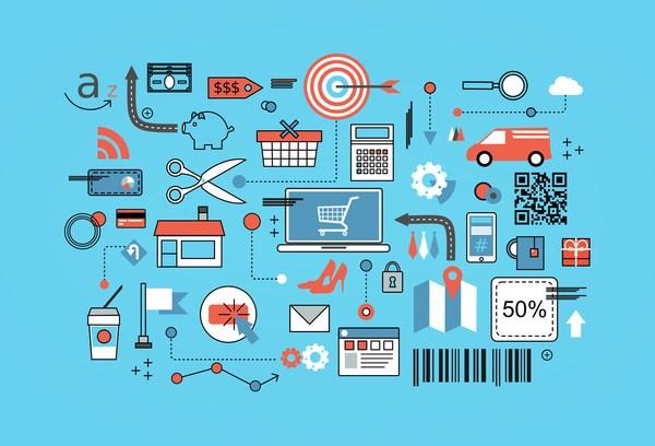 Thương mại điện tử chiếm vai trò quan trọng trong nền kinh tế số