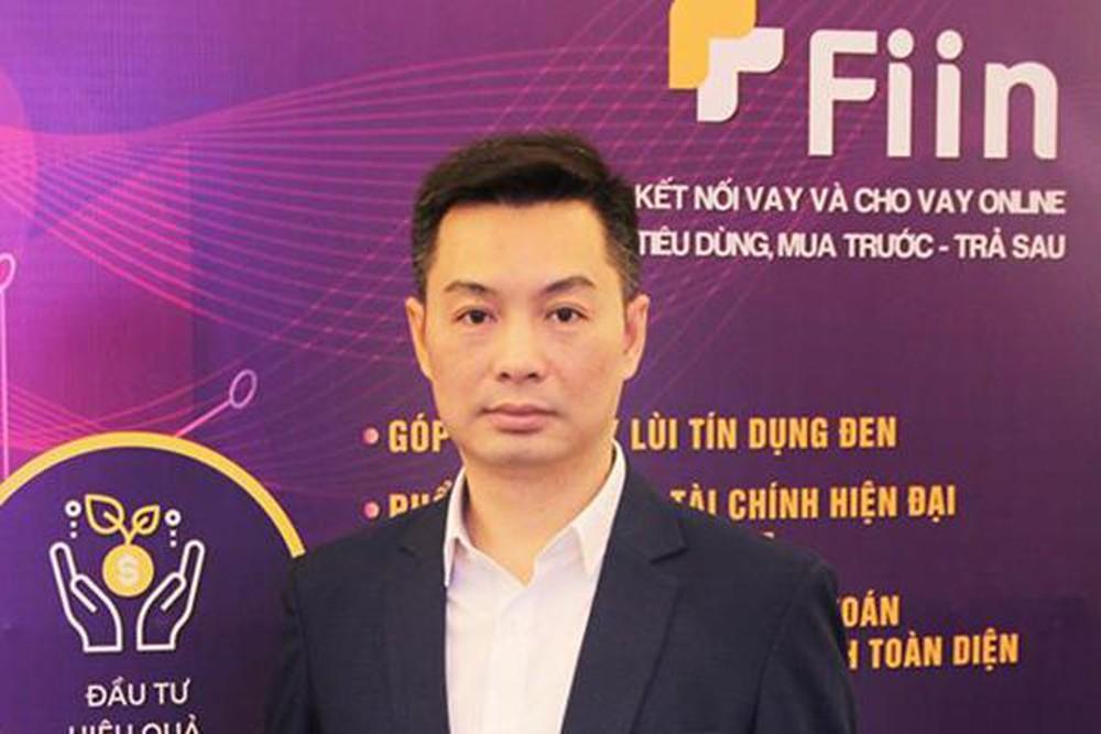 Ông Trần Việt Vĩnh, người Sáng lập, Giám đốc điều hành Fiin dự kiến Fintech sẽ cạnh tranh khốc liệt trong tương lai