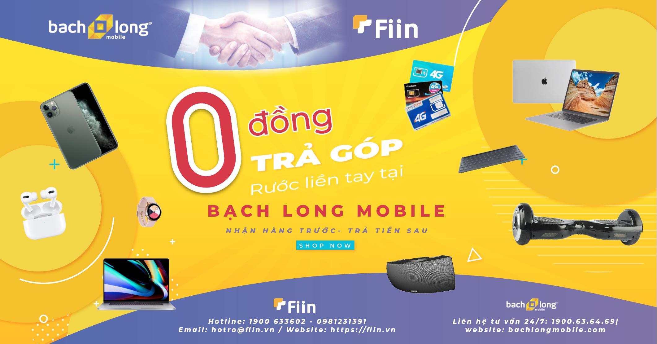 Sử dụng Fiin Credit sẽ giúp bạn thanh toán những khoản trả góp dễ dàng với nhiều ưu đãi lớn tại Bạch Long mobile