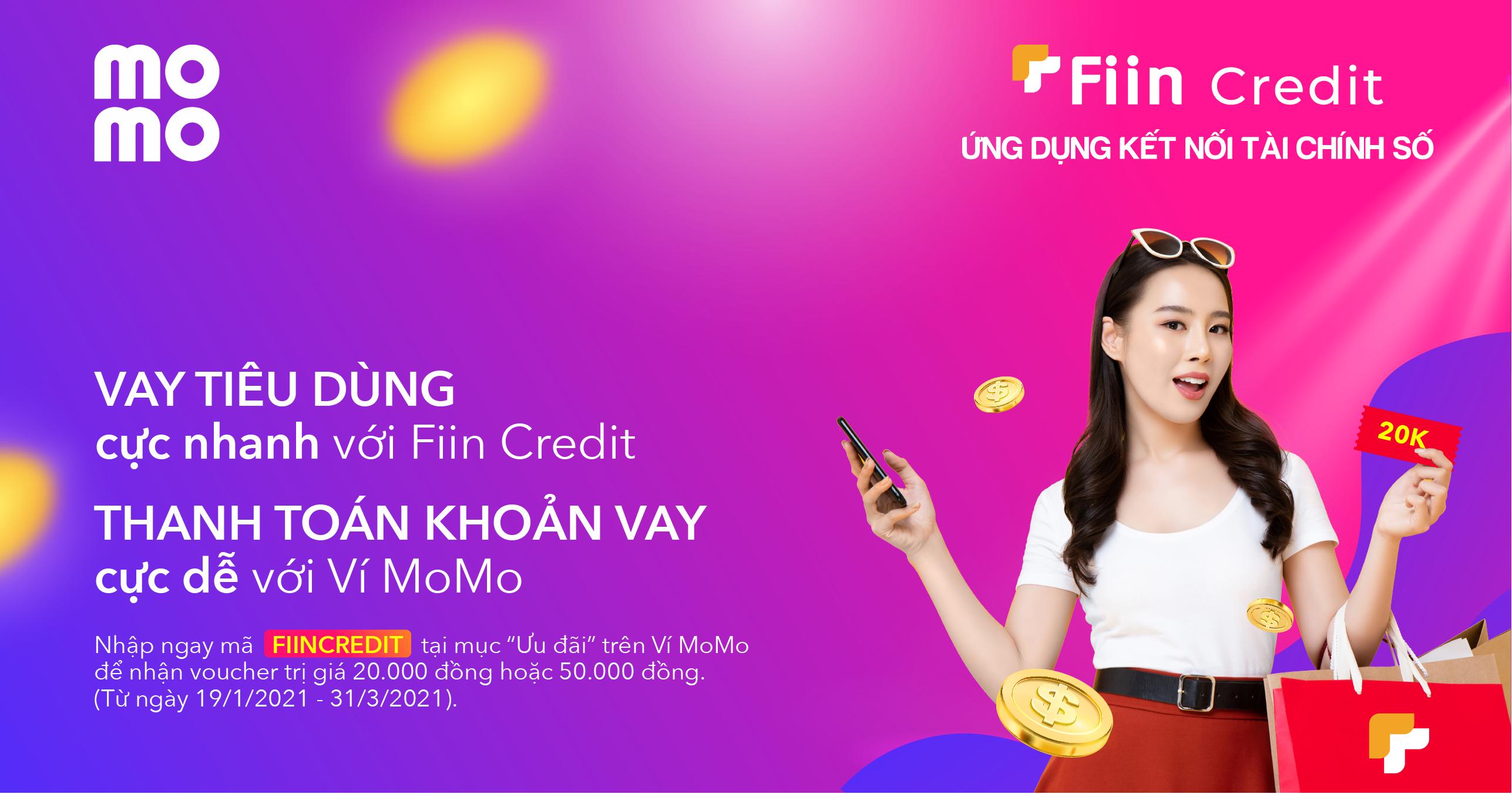 Rút tiền từ Fiin Credit về MoMo một cách dễ dàng