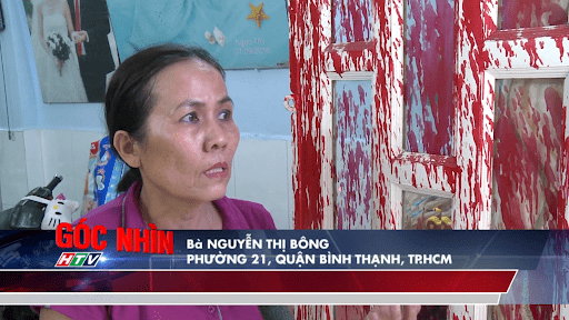 Bà Nguyễn Thị Bông bị lừa đảo tiền qua mạng