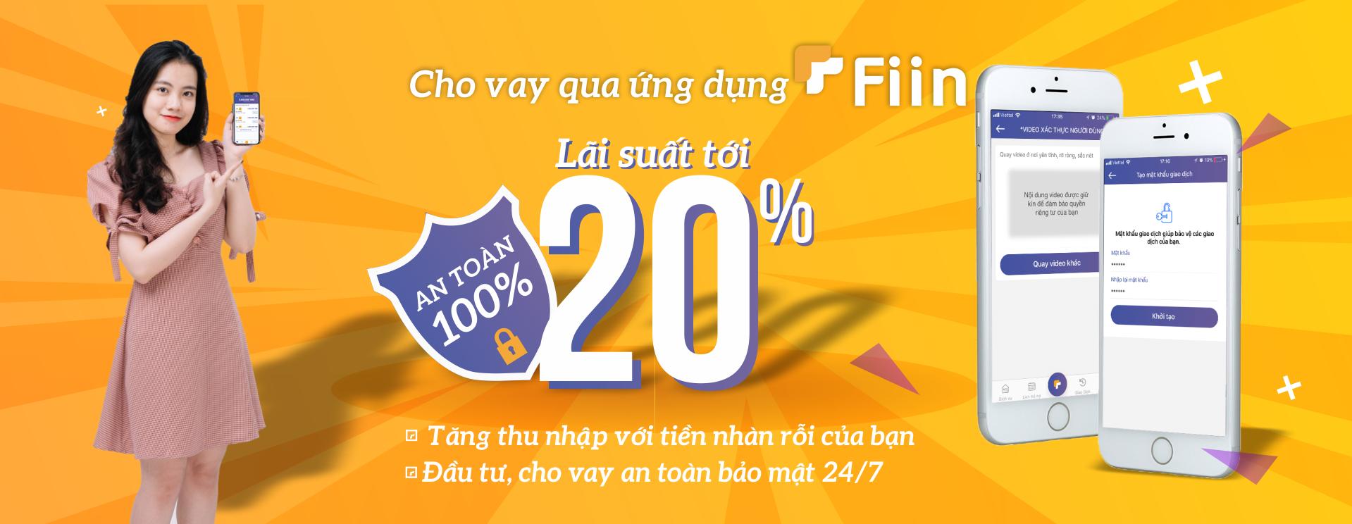 Công Ty Cổ Phần Đổi Mới Tài Chính Fiincung cấp dịch vụ P2P Lending