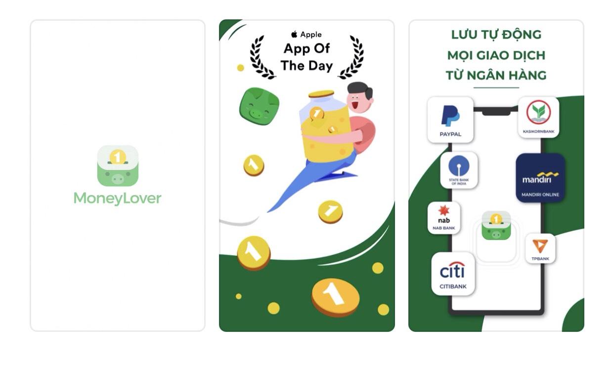 Ảnh Appstore: Ứng dụng quản lý chi tiêu - Money Lover