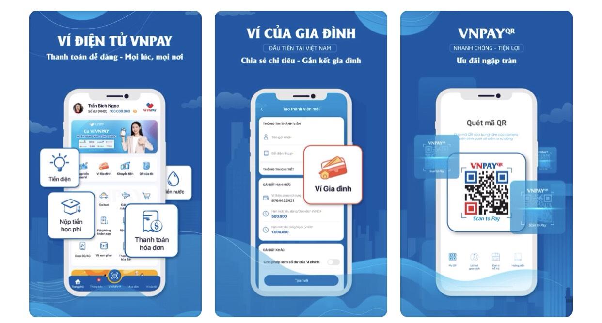 Ví điện tử VNPAY - Cổng thanh toán tiện lợi