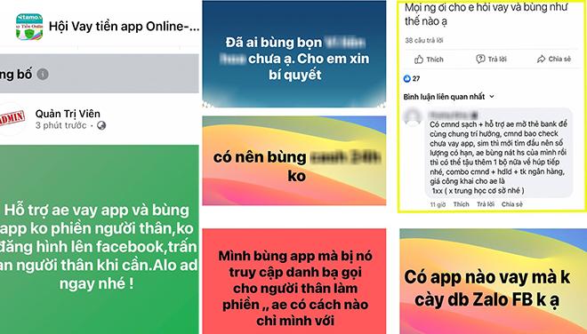 app bùng nợ vay online
