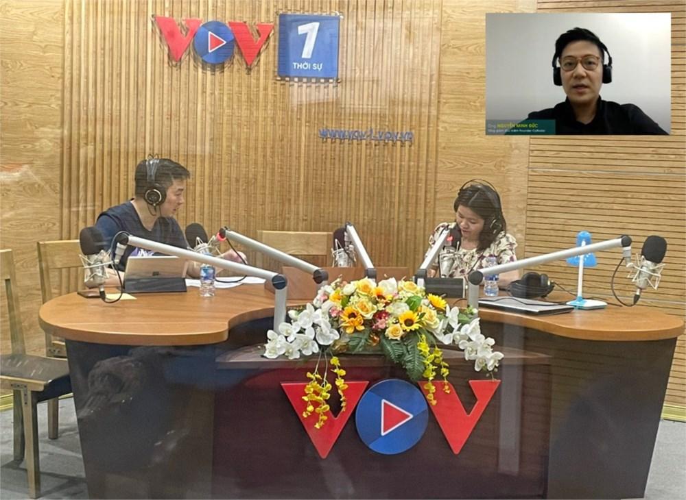 CEO của Fiin Credit đối thoại VOV1 về lừa đảo trực tuyến